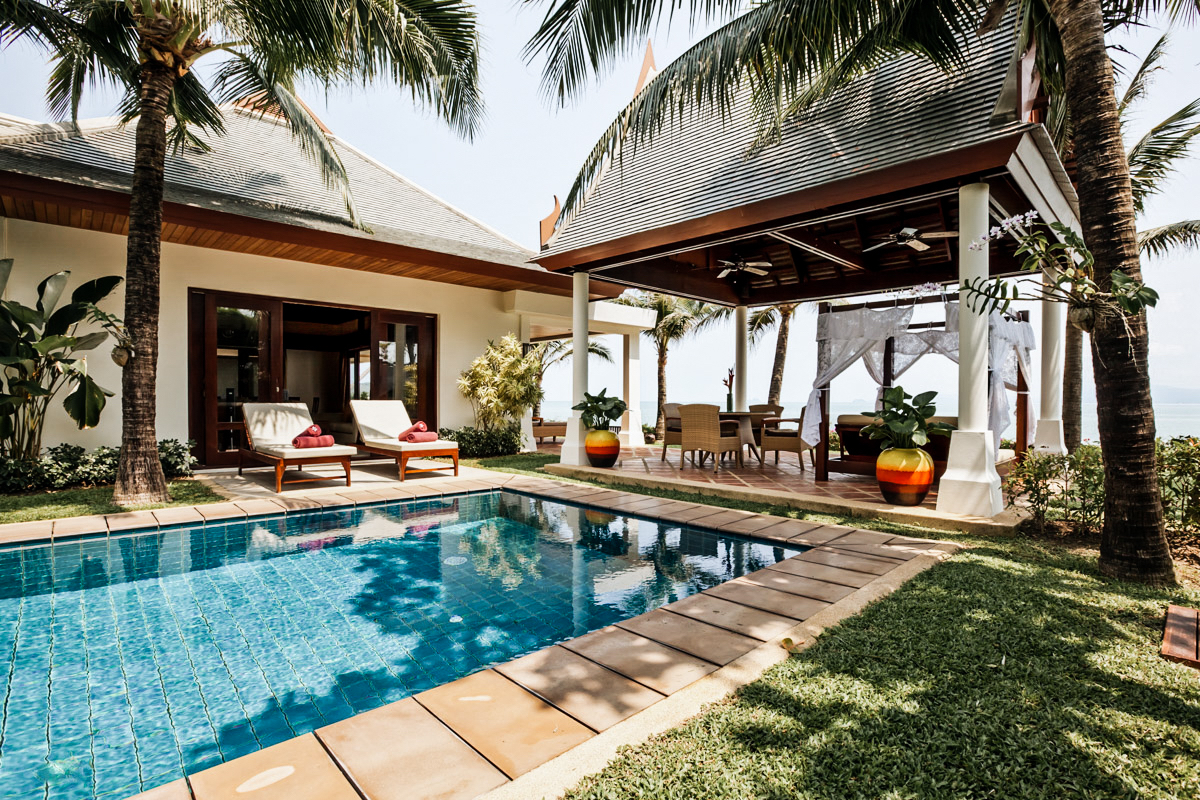 luxury pool villa Koh Samui